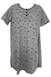 Fine woman Dames Nachthemd 6607 zwart