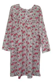 5 Dames Nachthemden 6873 fushia
