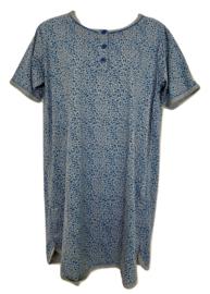 Fine woman Dames Nachthemd 6606 blauw