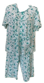 Fine woman Dames Shortama 2263 mint groen UITVERKOOP