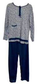 Fine woman Dames Pyjama 2282 marine