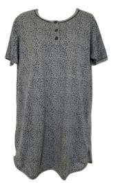 Fine woman Dames Nachthemd 6606 grijs