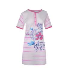 Fine woman Dames Nachthemd 6601 roze