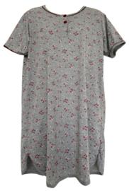 5 Dames Nachthemden 6607 fushia
