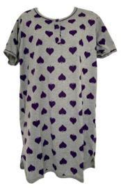 Fine woman Dames Nachthemd 6872 paars