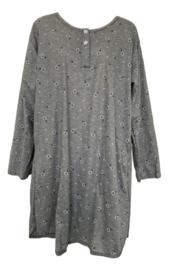 Fine woman Dames Nachthemd 6918 grijs-blauw