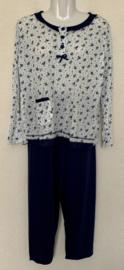 Fine woman Dames Pyjama 2281 donker blauw