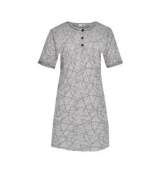 Fine woman Dames Nachthemd 6610 zwart