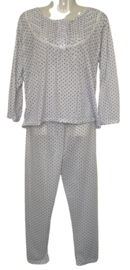 Fine woman Dames Pyjama 2288 wit