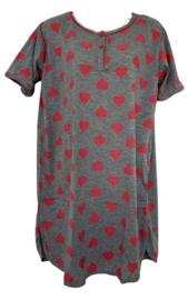 Fine woman Dames Nachthemd 6872 roze