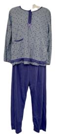 Fine woman Dames Pyjama 2282 lila