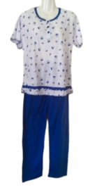 Dames Pyjama 818 blauw