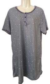 Fine woman Dames Nachthemd 6915 paars