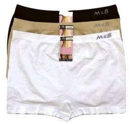 M&B hoge Dames Boxers Naadloos  6027-3 XL