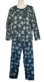Fine woman Dames Pyjama 2215 teal
