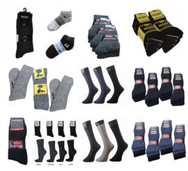 151 paar Mix Partij Heren sokken