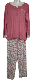 Fine woman Dames Pyjama 2309 roze
