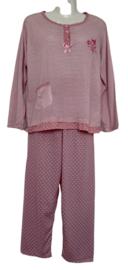 Fine woman Dames Pyjama 2218 licht roze