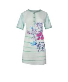 Fine woman Dames Nachthemd 6601 mint groen
