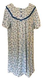 Fine woman Dames Nachthemd 6876 blauw