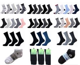 153 paar Mix Partij Dames sokken