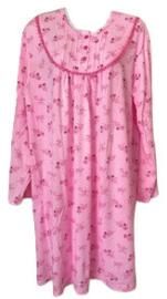 Fine woman Dames Nachthemd  6875 roze UITVERKOOP