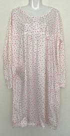 Fine woman Dames Nachthemd 9153 roze