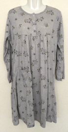 Fine woman Dames Nachthemd 9125 grijs