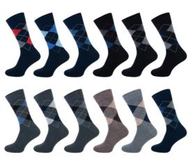 Teckel Heren sokken ZONDER NAAD 3-pack