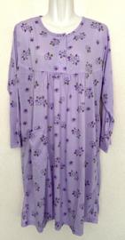 Fine woman Dames Nachthemd 9125 paars