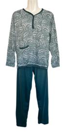 Fine woman Dames Pyjama 2217 teal