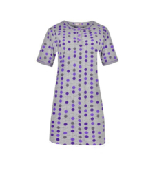 Fine woman Dames Nachthemd 6858 paars
