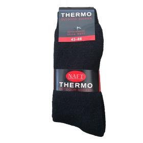 NAFT  Thermo sokken NAADLOOS  2-pack