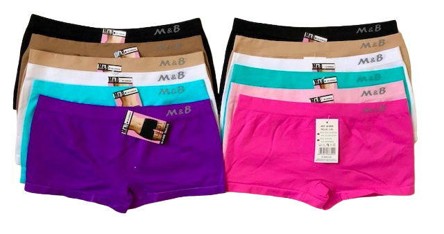M&B Dames Boxers Naadloos  6006 S-M