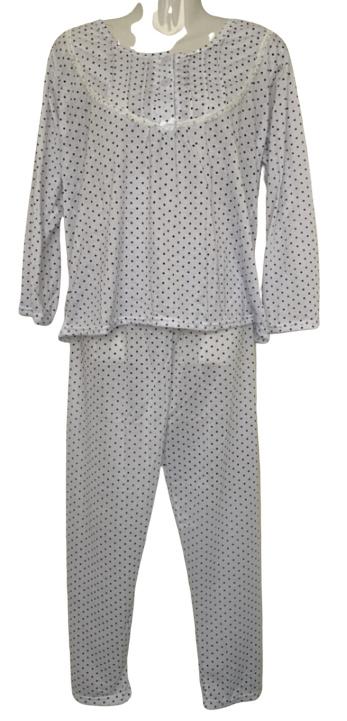 Fine woman Dames Pyjama 2288 wit UITVERKOOP