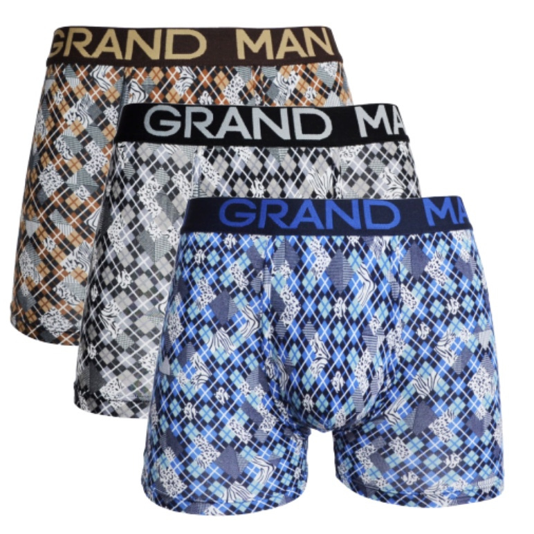 Grandman Heren Boxers Katoen 5033