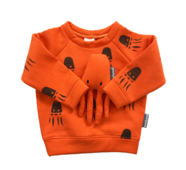 Knuffel Octo oranje