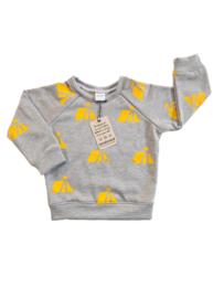 Sweater grijs Tent