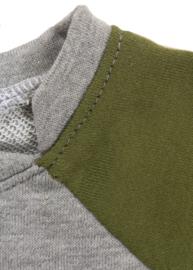 ShortSleeve Sweater Colourblock