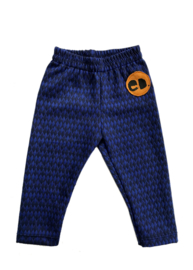 Legging Blue Grafisch Patroon