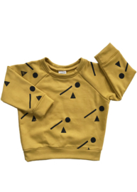 Oker Sweater Grafische print