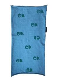 Sjaal ED. blauw