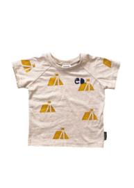 T-shirt Beige Tent
