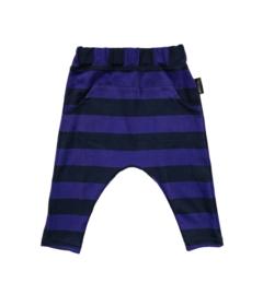 Harempant Paars/Blauw streep