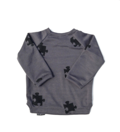 Sweat Trui Grey puzzel