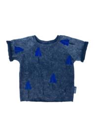 T-shirt Grijs Boom