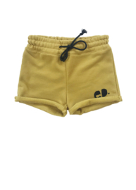 Short oker black koord