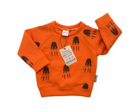 Sweater oranje Octo