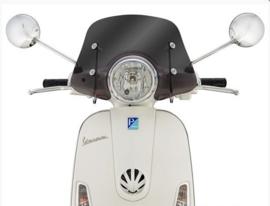 Flyscreen Ermax Piccolo voor Vespa LX 50-150 ccm - getint