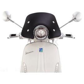 Flyscreen Ermax Piccolo voor Vespa Primavera 50-150 ccm - zwart getint